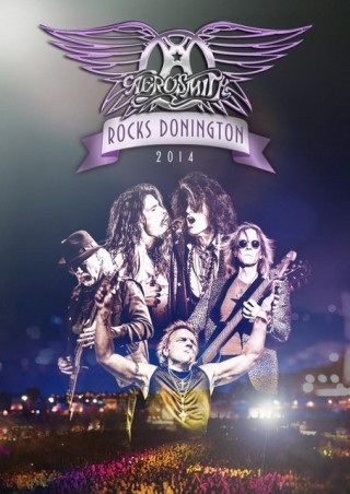 """""""Aerosmith Rocks Donington 2014"""" - Reprodução da capa"""