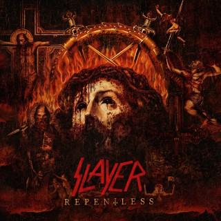"""Reprodução da capa de """"Repentless"""", do Slayer"""