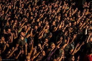 Sepultura no Audio Club - Foto: Divulgação Sepultura Facebook/Fernando Pires