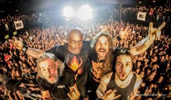 Sepultura no Audio Club - Foto: Divulgação Facebook/Dedé Moreira