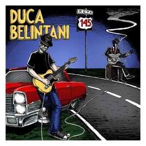 """Artistas Luiz Tim Ernani e Ennio Nascimento resgatam aura mística do blues na capa do CD """"Rota 145"""", de Duca Belintani"""