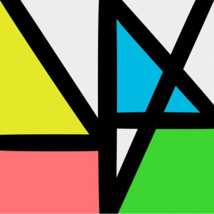 """Reprodução da capa do novo álbum """"Music Complete"""", do New Order"""