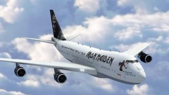 Novo avião do Iron Maiden - Foto: Reprodução