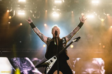 James Hetfield, do Metallica, no Rock in Rio - Foto: Divulgação Rock in Rio/I Hate Flash