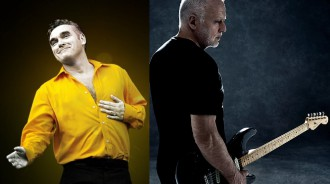 Morrissey e David Gilmour - Reprodução de Fotos de Divulgação