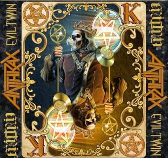 Anthrax - Reprodução da capa do single 'Evil Twin'