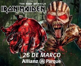 Iron Maiden no Allianz Parque - Cartaz de Divulgação