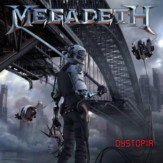 """Megadeth - Reprodução da capa do álbum """"Dystopia"""""""