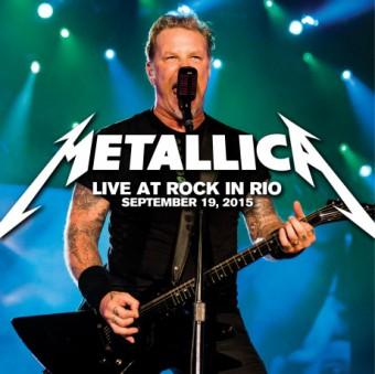 Metallica - Reprodução da Capa do CD do show no Rock in Rio