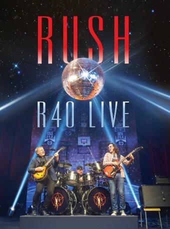 """Rush - Reprodução da capa do DVD """"R40 Live"""""""