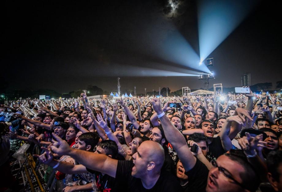 Slipknot repete em SP script do Rock in Rio, rasga elogios