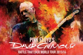 David Gilmour - Cartaz da turnê