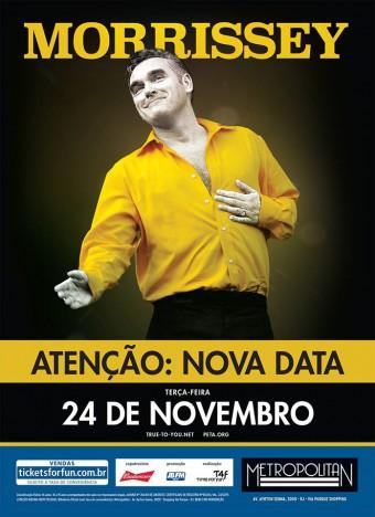 Morrissey no Rio - Cartaz de Divulgação