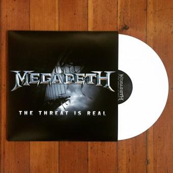 """""""The Threat Is Real"""" - Reprodução da capa do single que será lançado em vinil"""