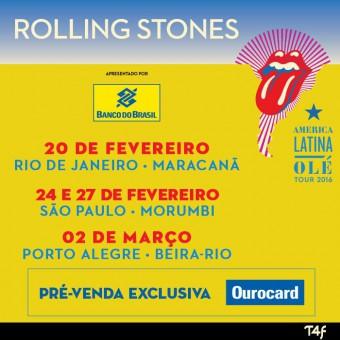 Rolling Stones Cartaz Brasil