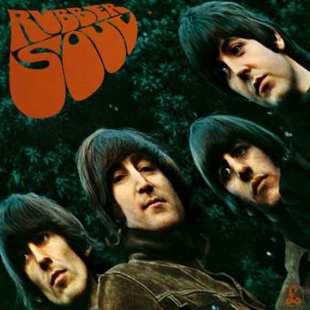 Rubber Soul - Reprodução da capa