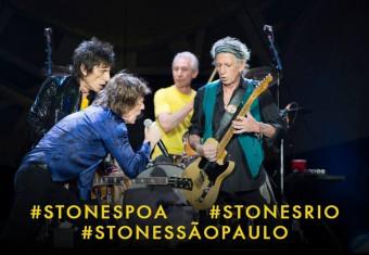 Stones no Brasil - Foto: Divulgação