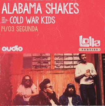 Alabama Shakes no Audio Club - Cartaz de Divulgação