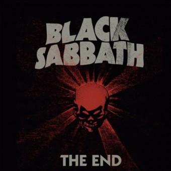 """Black Sabbath - Reprodução da capa de """"The End"""""""