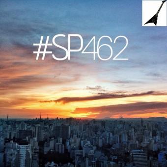 SP462 - Foto da Prefeitura de São Paulo, com montagem da guitarra feita pelo Roque Reverso