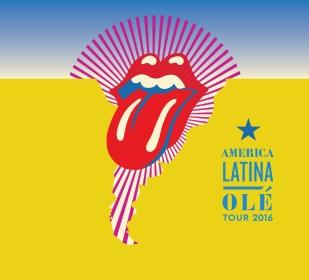 Stones na América Latina - Cartaz de Divulgação
