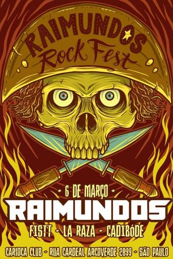 Raimundos Rock Fest - Cartaz de Divulgação