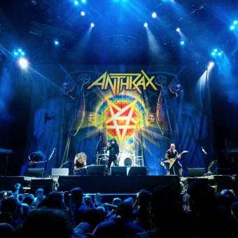 Anthrax na Arena do Palmeiras - Foto: Divulgação Midiorama