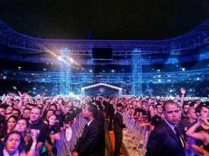 Iron Maiden na Arena do Palmeiras em SP - Foto: Divulgação Midiorama