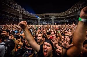 Iron Maiden e Anthrax na Arena do Palmeiras em SP - Foto: Divulgação Move Concerts