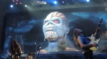 Iron Maiden na Arena do Palmeiras em SP - Foto: Reprodução YouTube