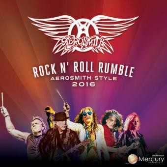 Aerosmith - Cartaz de divulgação da turnê