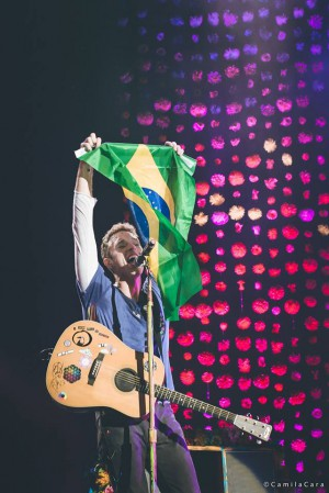 Coldplay no Allianz Parque em SP - Foto: Divulgação Time For Fun/Camila Cara