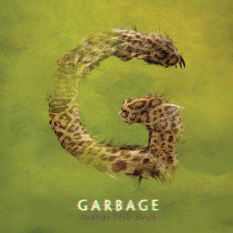 """Garbage - Reprodução da capa do disco """"Strange Little Birds"""""""