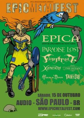 Epic Metal Fest - Cartaz de Divulgação