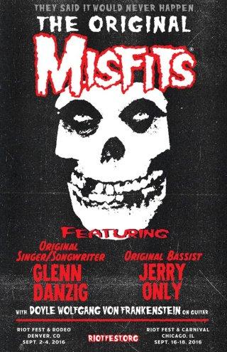 A volta do Misfits - Cartaz de Divulgação