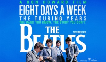 """Eight Days A Week – The Touring Years"" - Reprodução do cartaz do documentário"