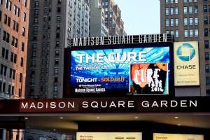 The Cure em Nova York - Foto: Divulgação Madison Square Garden/Carl Scheffel