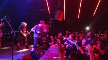 Napalm Death em SP - Foto: Divulgação The Ultimate Music/Costábile Salzano Jr.