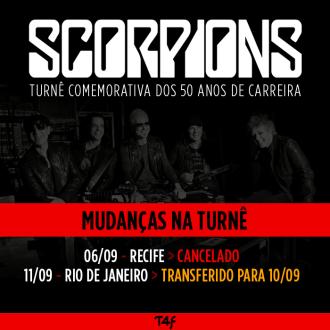 Scorpions - Reprodução de Aviso da Time For Fun