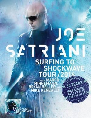 Joe Satriani - Cartaz de Divulgação da Turnê