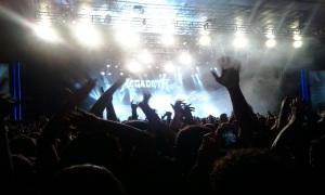 Megadeth em SP - Foto: Roque Reverso/Flavio Leonel