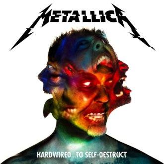 """""""Hardwired...to Self-Destruct"""" - Reprodução da capa"""