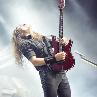 Kiko Loureiro com o Megadeth em SP - Foto: Divulgação/Megadeth
