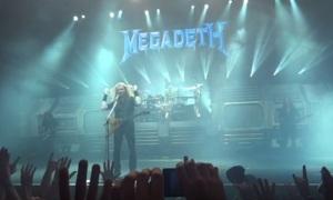 Megadeth em SP - Foto: Reprodução do YouTube