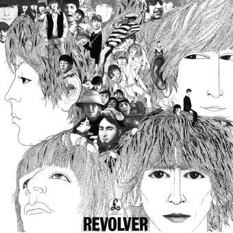 """""""Revolver"""" - Reprodução da capa"""