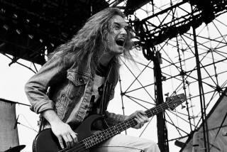 Cliff Burton - Foto: Divulgação Metallica/ Ross Halfin Photography