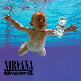 """""""Nevermind"""", reprodução da capa"""