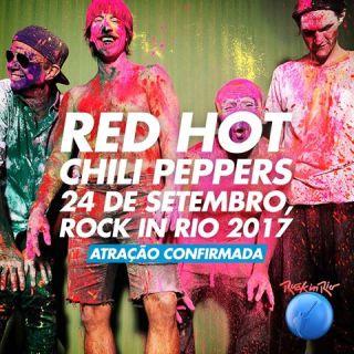 Red Hot - Foto: Divulgação/Rock in Rio
