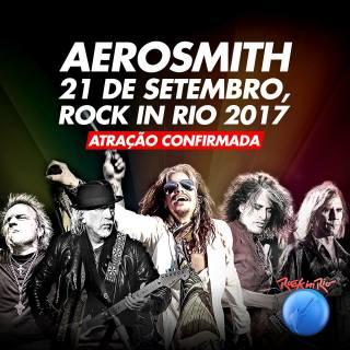 Aerosmith - Foto: Divulgação Rock in Rio