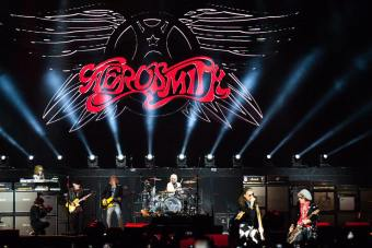 Aerosmith em SP - Foto: Mercury Concerts/Lauro Capellari